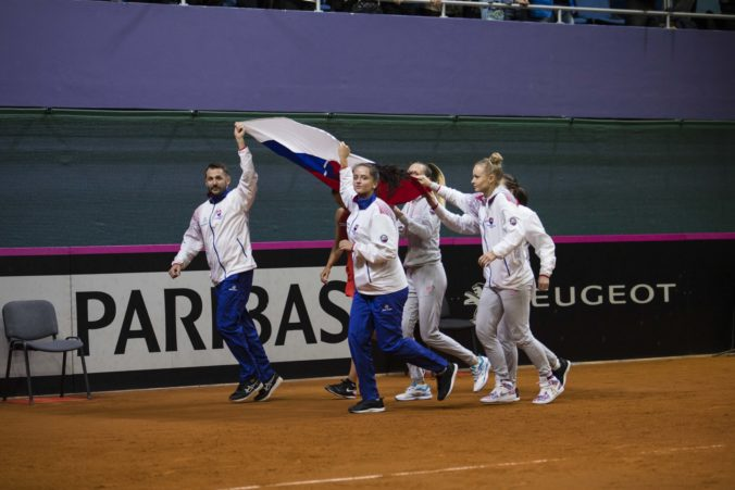 Slovenky sa na Pohári federácie stretnú s Američankami, zrejme nastúpi aj Serena Williamsová
