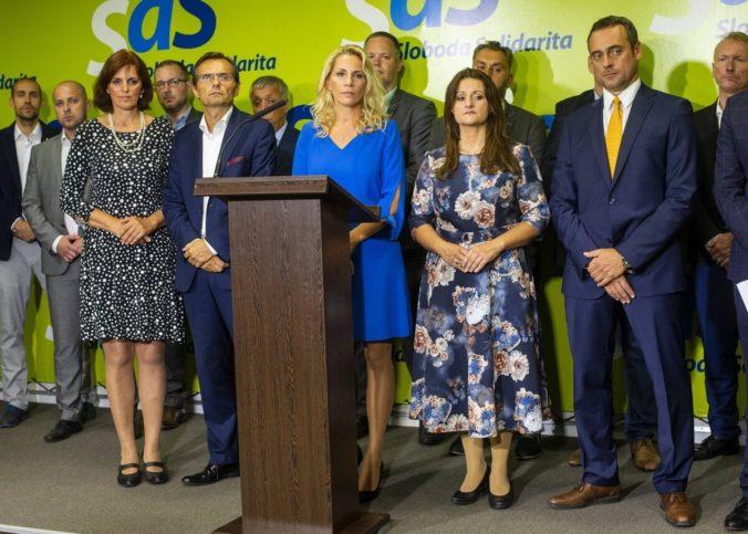 Predsedníctvo Demokratickej strany stojí za odídencami z SaS, strana ide do volieb jednotne