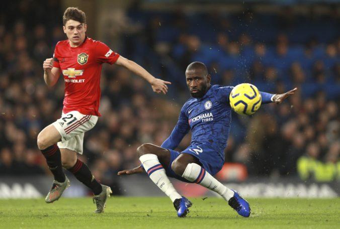 Manchester United v šlágri Premier League zdolal Chelsea a v tabuľke je siedmy