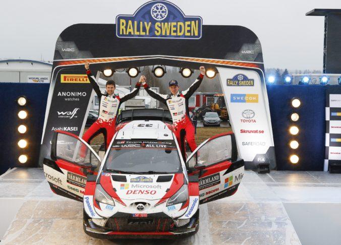 Rovanperä prepísal históriu, ale na Rely Švédska dominoval Evans (video)