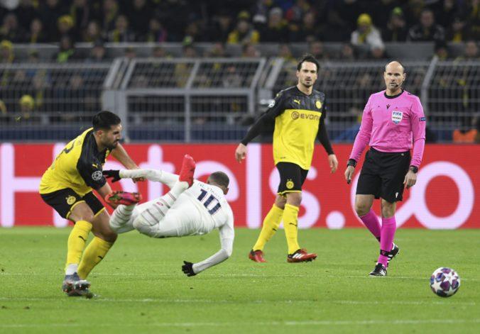 Mladík Haaland zatienil Neymara, Borussia v prvom osemfinále Ligy majstrov zdolala PSG