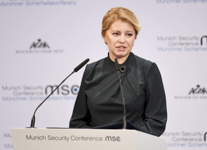 Nad smerovaním strednej Európy visia otázniky, vyhlásila prezidentka Čaputová v Mníchove