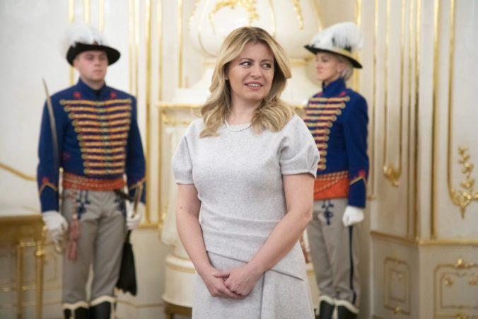 Prezidentka Čaputová prijala v paláci hlavnú európsku prokurátorku Kövesi