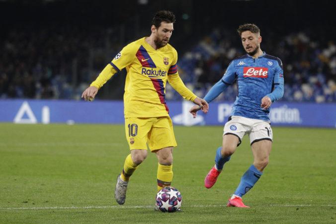Neapol a Barcelona sa v prvom osemfinále Ligy majstrov rozišli pod Vezuvom zmierlivo