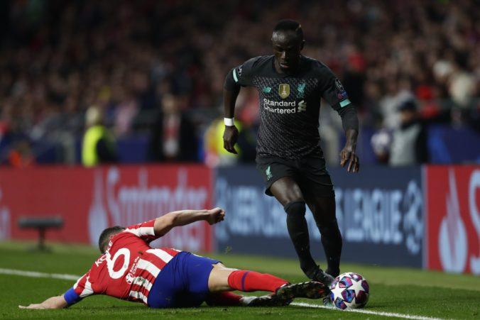 FC Liverpool tesne prehral na pôde Atlética Madrid v prvom osemfinále Ligy majstrov
