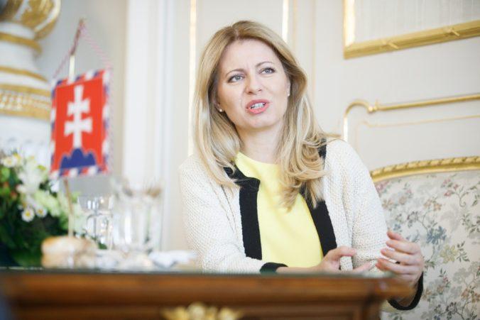 Prezidentka Čaputová kritizuje, že Slováci sa pred voľbami nevyhli klamstvu či manipulácii strachom
