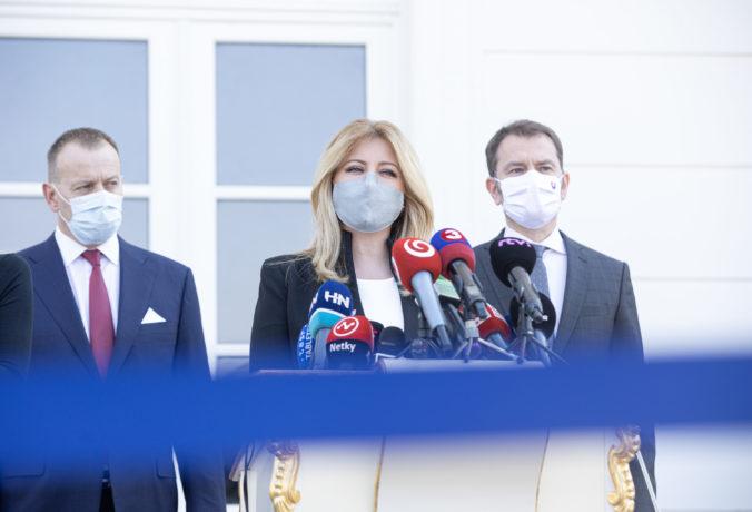 Prezidentka Čaputová víta obmedzenie pohybu cez Veľkú noc a považuje ho za správne