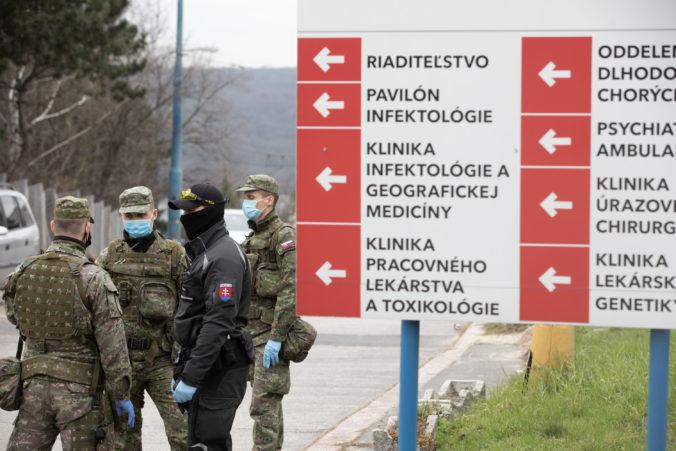 Vláda schválila navýšenie počtu vojakov v boji s koronovírusom, má ich byť trikrát viac