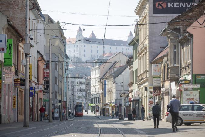 Bratislava prijala nové opatrenia proti šíreniu koronavírusu a posilní hliadky mestskej polície