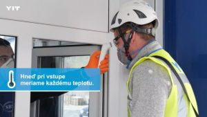 Spoločnosť YIT Slovakia za sprísnených opatrení pokračuje vo výstavbe svojich projektov