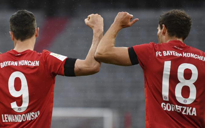 Bayern Mníchov odplatil Eintrachtu Frankfurt novembrový výprask, čaká ich šláger s Borussiou Dortmund