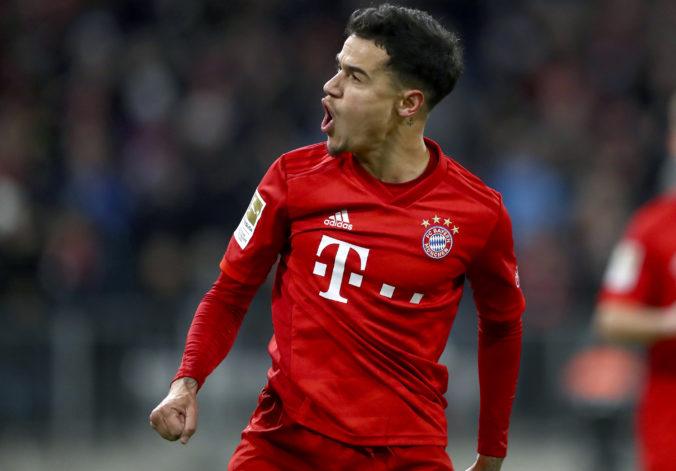 Coutinho sa po hosťovaní v Bayerne vráti do Barcelony, záujem oňho majú tri anglické kluby