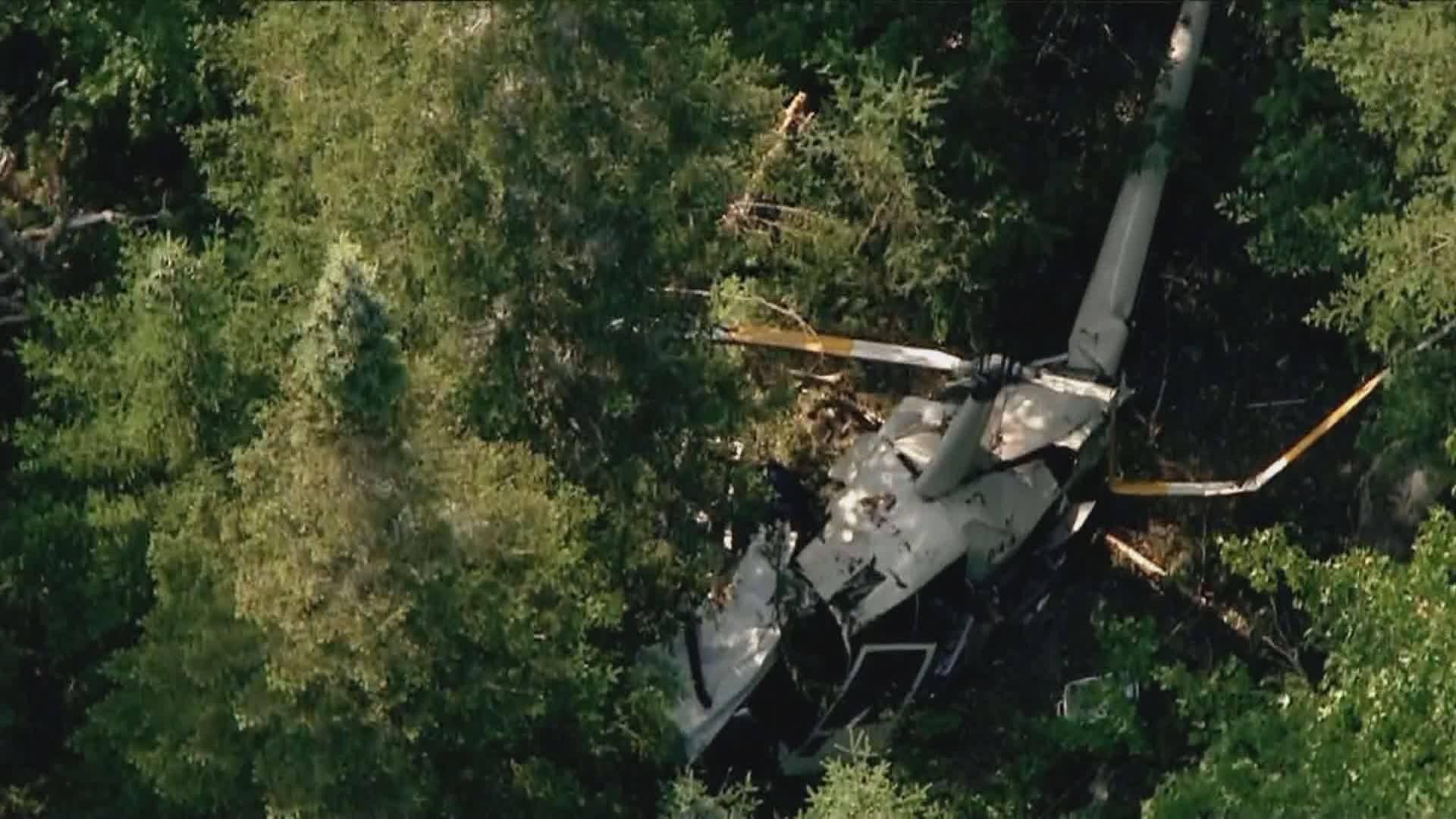 Zrútil sa armádny vrtuľník, zomreli štyri osoby