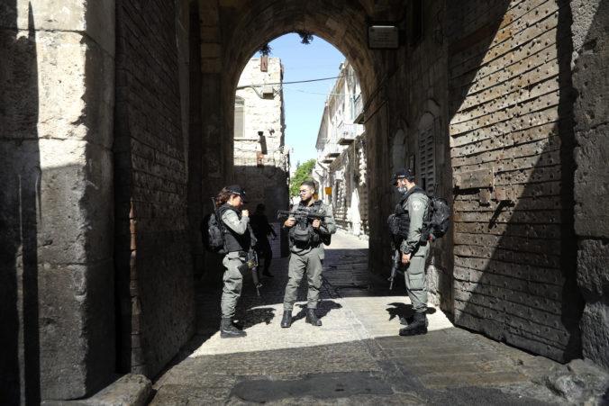 Izraelská polícia zastrelila pri jeruzalemskom Starom meste neozbrojeného Palestínčana