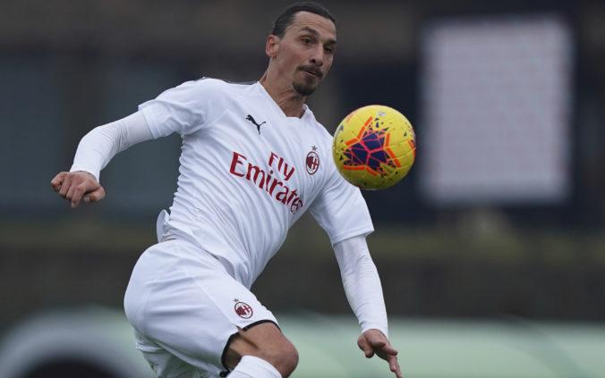 Ibrahimovič si poranil lýtko na tréningu AC Miláno a po pandémii Covid-19 mu hrozí ďalšia pauza