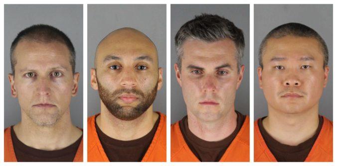 Trom obvineným policajtom, ktorí boli pri zásahu na Georgea Floyda, hrozí až 40 rokov vo väzení