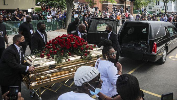 Georgea Floyda zabila pandémia rasizmu, na jeho rozlúčku prišli celebrity, hudobníci aj politici (foto+video)