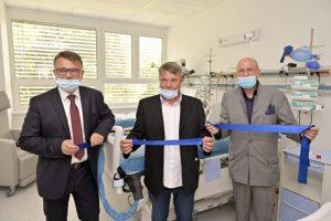 Ružinovská poliklinika otvorila unikátne oddelenie chronickej respiračnej a intenzívnej starostlivosti