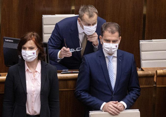 Premiér Matovič si z Čaputovej správy o stave republiky odniesol 12 bodov poznámok