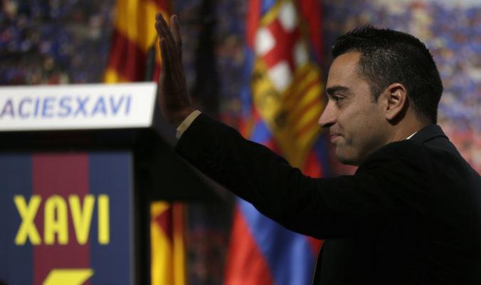 Xavi je horúcim kandidátom na trenéra FC Barcelona, ale je tam jedna prekážka