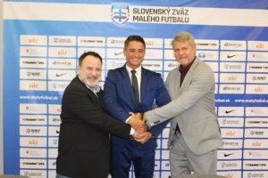 Malý futbal na Slovensku má nového hlavného partnera – stávkovú spoločnosť Niké