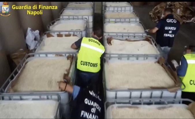 Talianska polícia zhabala amfetamín za miliardu eur, údajne ho vyrobil Islamský štát (foto)