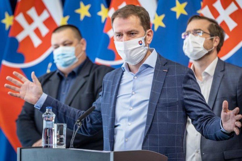 Matovič penil: Zpochybňovači Covid považujúci ho za chrípku sú blázni, môžu za opatrenia