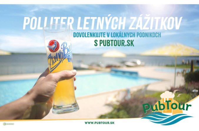 Objavujte slovenské pivné destinácie. Kampaň PubTour podporuje HORECA segment