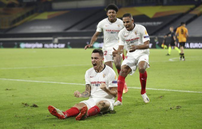 Brazílčania vybavili postup Šachtaru v Európskej lige, ale Sevilla sa natrápila s Wolverhamptonom