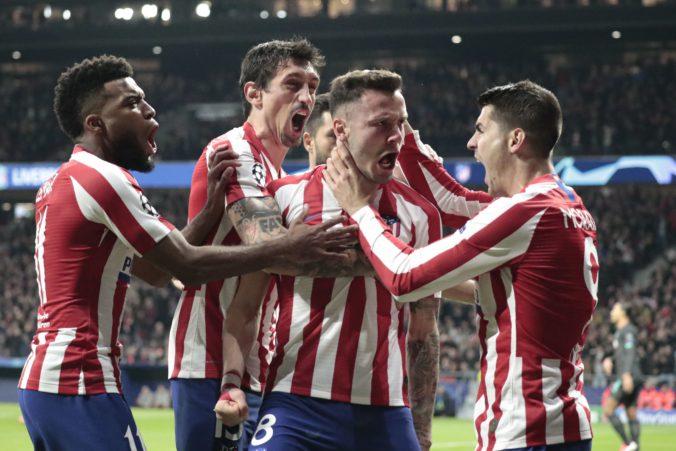 Atlético Madrid má pred štvrťfinále Ligy majstrov narušený program, dvaja členovia tímu majú koronavírus