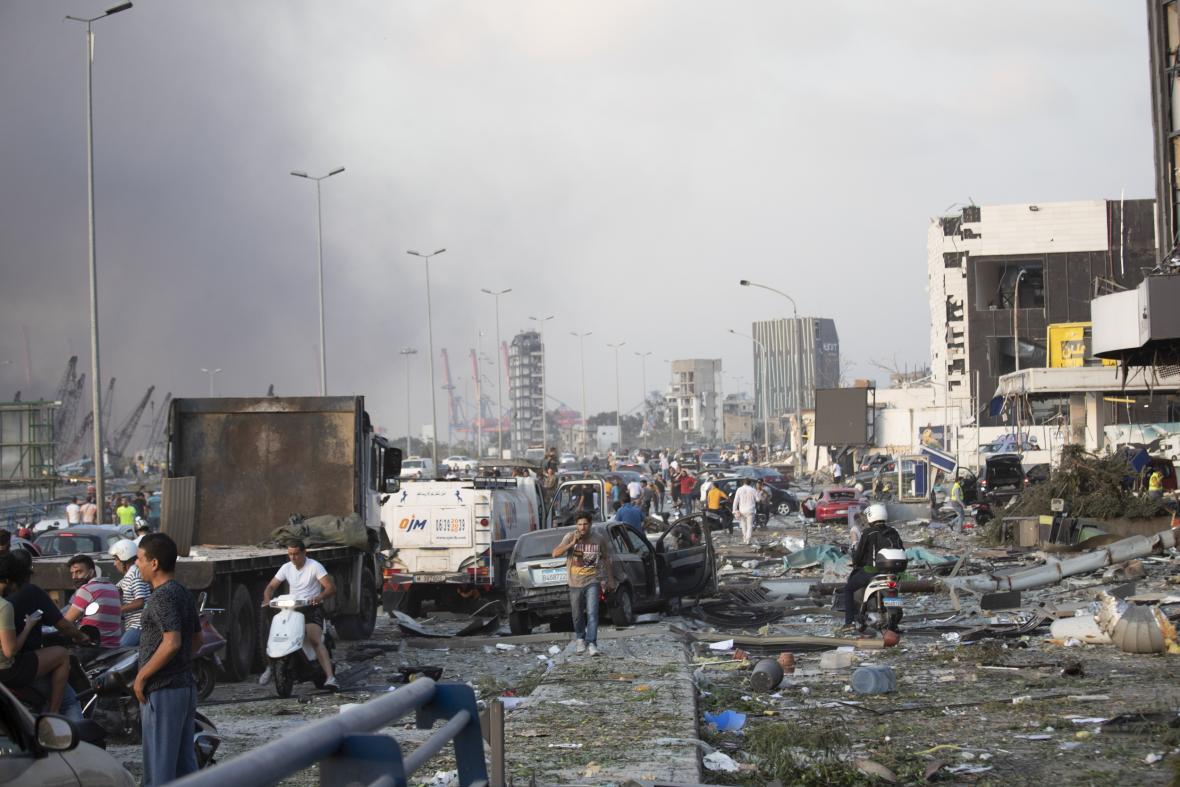 Strašná správa! Masívny výbuch v Bejrúte zabil obrovské množstvo ľudí a tisíce zranil