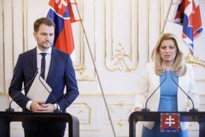 Prezidentka Čaputová vrátila Matovičovi úder