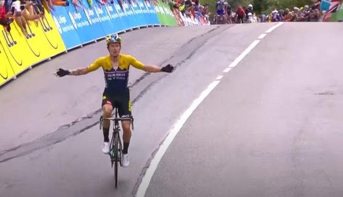 Víťazom druhej etapy Critérium du Dauphiné Roglič, Sagan opäť nebojoval o čelnú pozíciu (video)