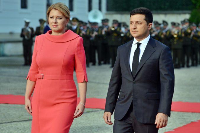 Čaputová sa stretla s prezidentom Zelenským, riešili integráciu Ukrajiny do EÚ aj násilie v Bielorusku