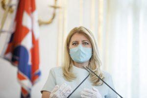 Klíma je v kríze a potrebuje nás, prezidentka Čaputová víta angažovanosť mladých