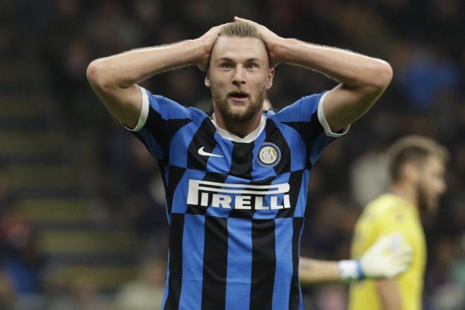 Škriniar do Tottenhamu neprestupuje, uviedol športový riaditeľ Interu Miláno Piero Ausilio