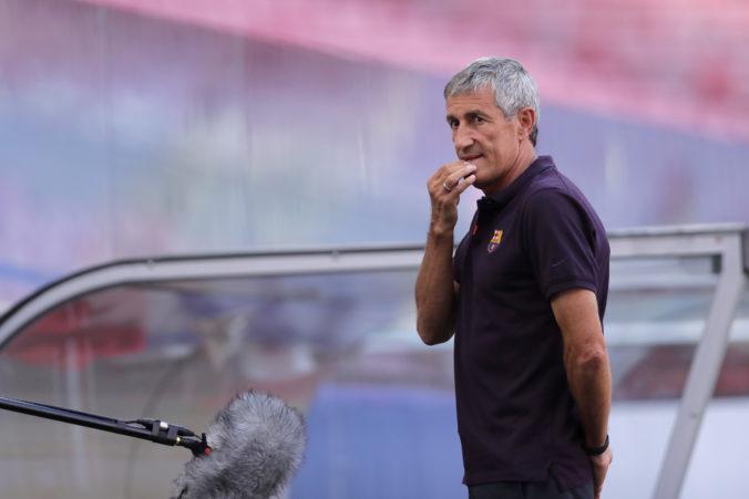 Extréner Barcelony Quique Setién zažaloval klub za nedodržanie zmluvy, žiada štyri milióny eur