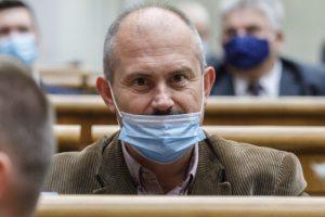 Šéf Ľudovej strany Naše Slovensko Marian Kotleba mal pozitívny test na koronavírus