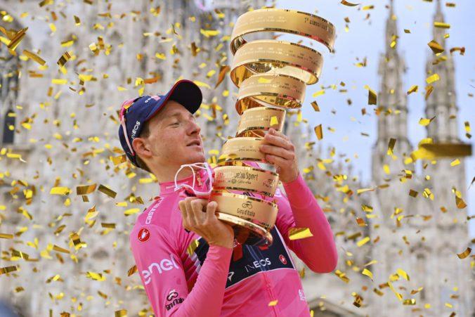 Hart obdivoval Wigginsa a jeho príbeh je ako z komiksu. Kto je víťaz Giro d´Italia 2020? (video)