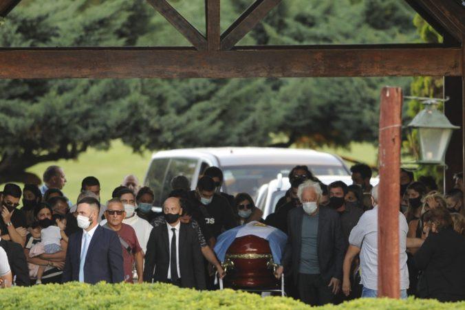 Diego Maradona nemal štátny pohreb, na poslednej rozlúčke boli aj tisícky fanúšikov (foto)