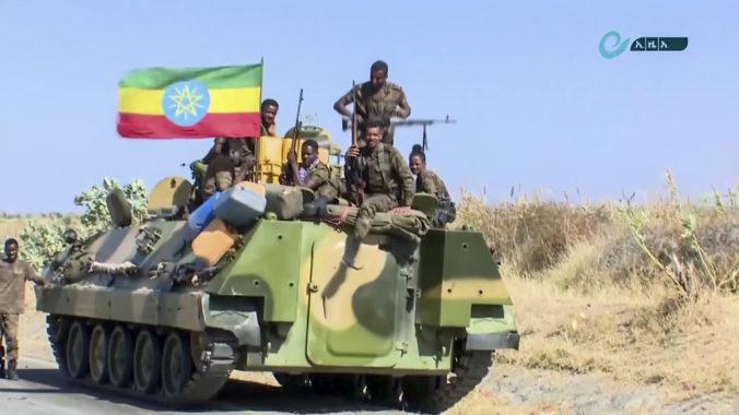 Etiópska armáda spustila ofenzívu v hlavnom meste regiónu Tigray, ide po vodcoch rebelov
