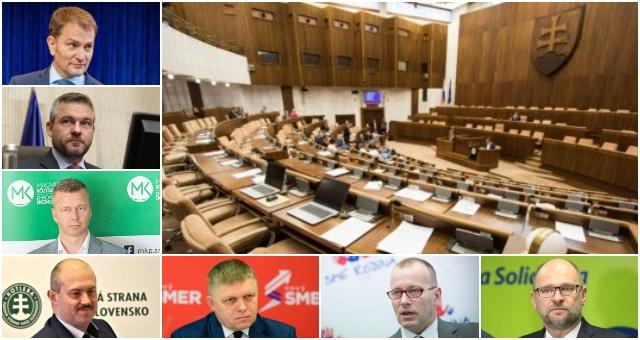 SaS dýcha na chrbát hnutiu OĽaNO, voľby by vyhral Hlas-SD a Smer-SD je až za kotlebovcami