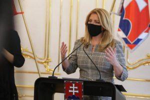 Prezidentka Čaputová povýšila a vymenovala nových generálov Ozbrojených síl SR