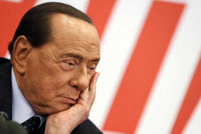 Talianskeho expremiéra Silvia Berlusconiho hospitalizovali v Monaku pre srdcové problémy