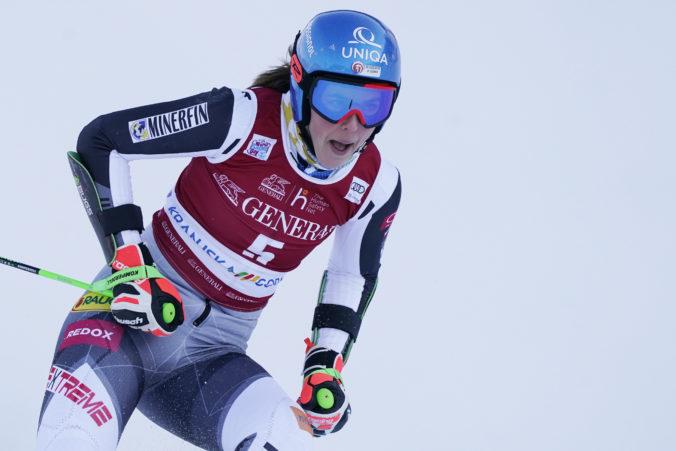 Vlhová išla obrovský slalom v Kranjskej Gore solídne, pódium jej však tesne ušlo