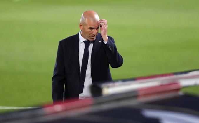Tréner Zinedine Zidane sa nakazil koronavírusom, Real Madrid bude niekoľko zápasov viesť Bettoni
