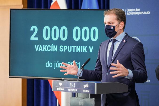 Matovič pokračuje v téme Sputnik a tvrdí, že by nikdy nedovolil, aby vakcínu vrátili Rusku