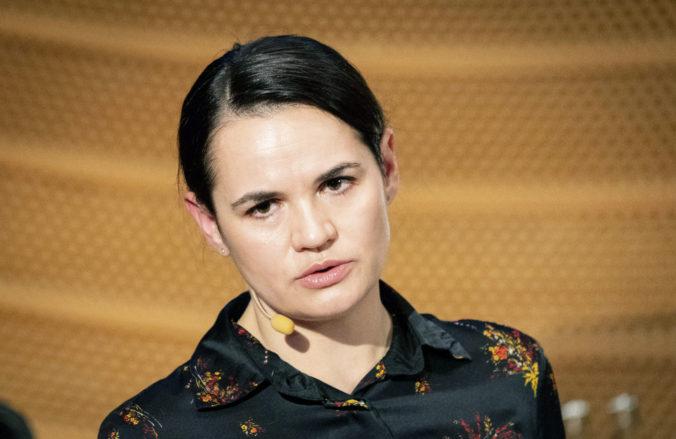 Litva odmietla vydať opozičnú političku Svetlanu Cichanovskú do Bieloruska