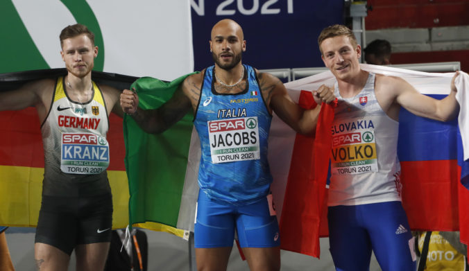 Volko v Poľsku na halových ME v atletike vyšprintoval bronz, spomalil ho pokazený štart