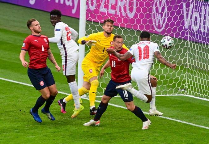 ME vo futbale 2020 (D-skupina): Angličania zdolali Čechov, triumf im zaručil Sterlingov gól (foto)